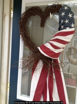 Extraordinary 4th Of July Wreath Ideas For This Summer 09