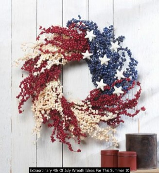 Extraordinary 4th Of July Wreath Ideas For This Summer 10