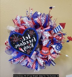 Extraordinary 4th Of July Wreath Ideas For This Summer 24