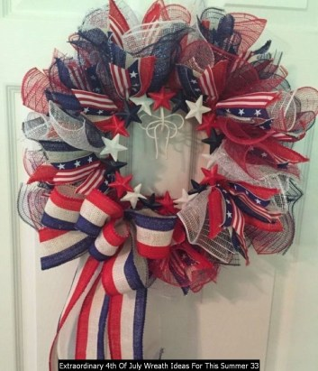 Extraordinary 4th Of July Wreath Ideas For This Summer 33