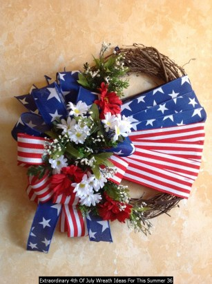 Extraordinary 4th Of July Wreath Ideas For This Summer 36