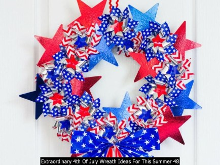 Extraordinary 4th Of July Wreath Ideas For This Summer 48