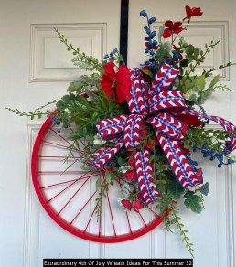 Extraordinary 4th Of July Wreath Ideas For This Summer 52