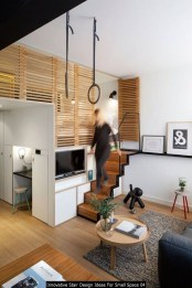 Innovative Stair Design Ideas For Small Space 04