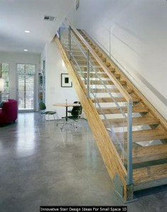 Innovative Stair Design Ideas For Small Space 10