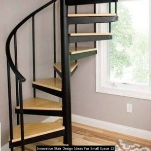 Innovative Stair Design Ideas For Small Space 12
