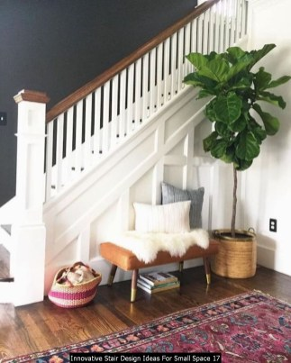 Innovative Stair Design Ideas For Small Space 17