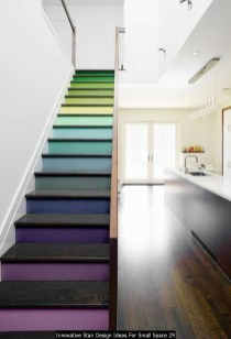 Innovative Stair Design Ideas For Small Space 29