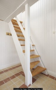 Innovative Stair Design Ideas For Small Space 31