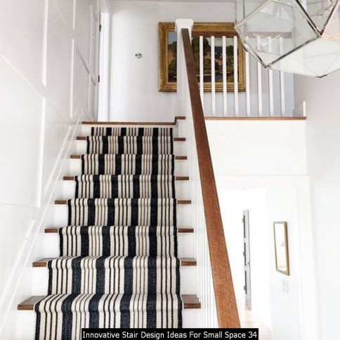 Innovative Stair Design Ideas For Small Space 34