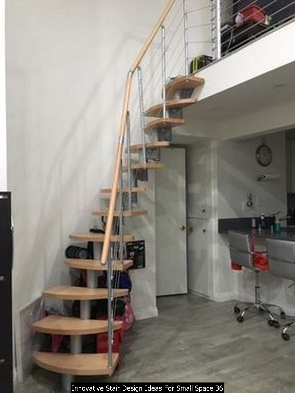 Innovative Stair Design Ideas For Small Space 36