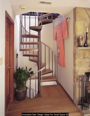 Innovative Stair Design Ideas For Small Space 42