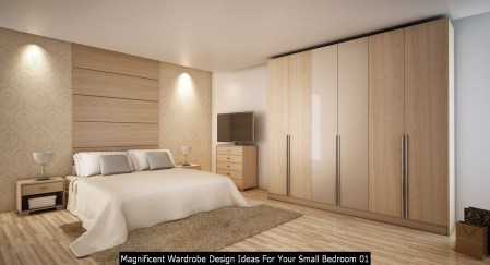 Magnificent Wardrobe Design Ideas For Your Small Bedroom 01
