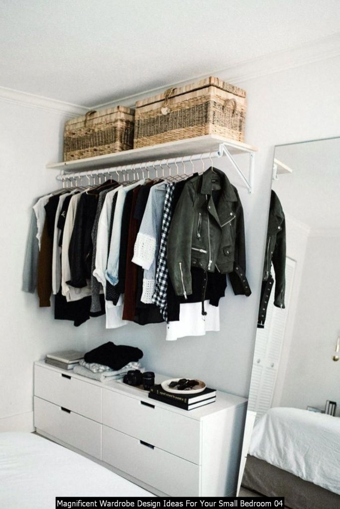 Magnificent Wardrobe Design Ideas For Your Small Bedroom 04