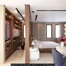 Magnificent Wardrobe Design Ideas For Your Small Bedroom 05