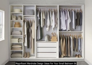 Magnificent Wardrobe Design Ideas For Your Small Bedroom 06