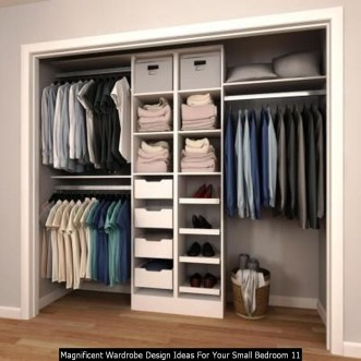 Magnificent Wardrobe Design Ideas For Your Small Bedroom 11