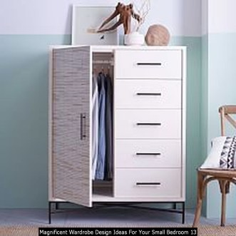 Magnificent Wardrobe Design Ideas For Your Small Bedroom 13