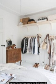 Magnificent Wardrobe Design Ideas For Your Small Bedroom 22