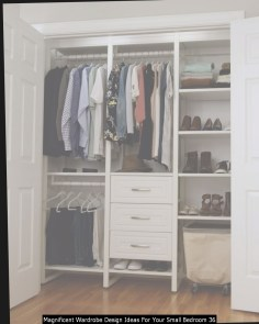 Magnificent Wardrobe Design Ideas For Your Small Bedroom 36