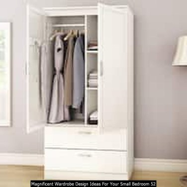 Magnificent Wardrobe Design Ideas For Your Small Bedroom 52