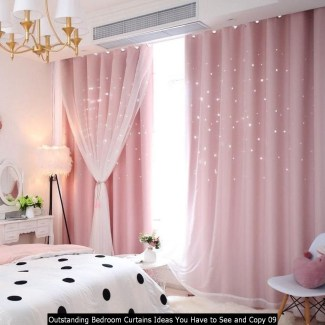 Outstanding Bedroom Curtains Ideas You Have To See And Copy 09
