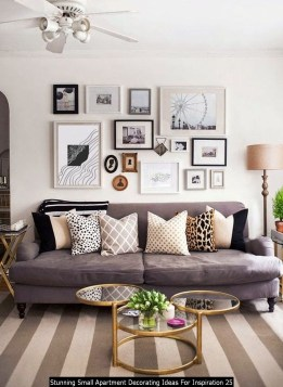 Stunning Small Apartment Decorating Ideas For Inspiration 25