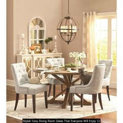 Stylish Cozy Dining Room Ideas That Everyone Will Enjoy 12