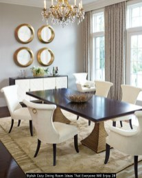 Stylish Cozy Dining Room Ideas That Everyone Will Enjoy 28