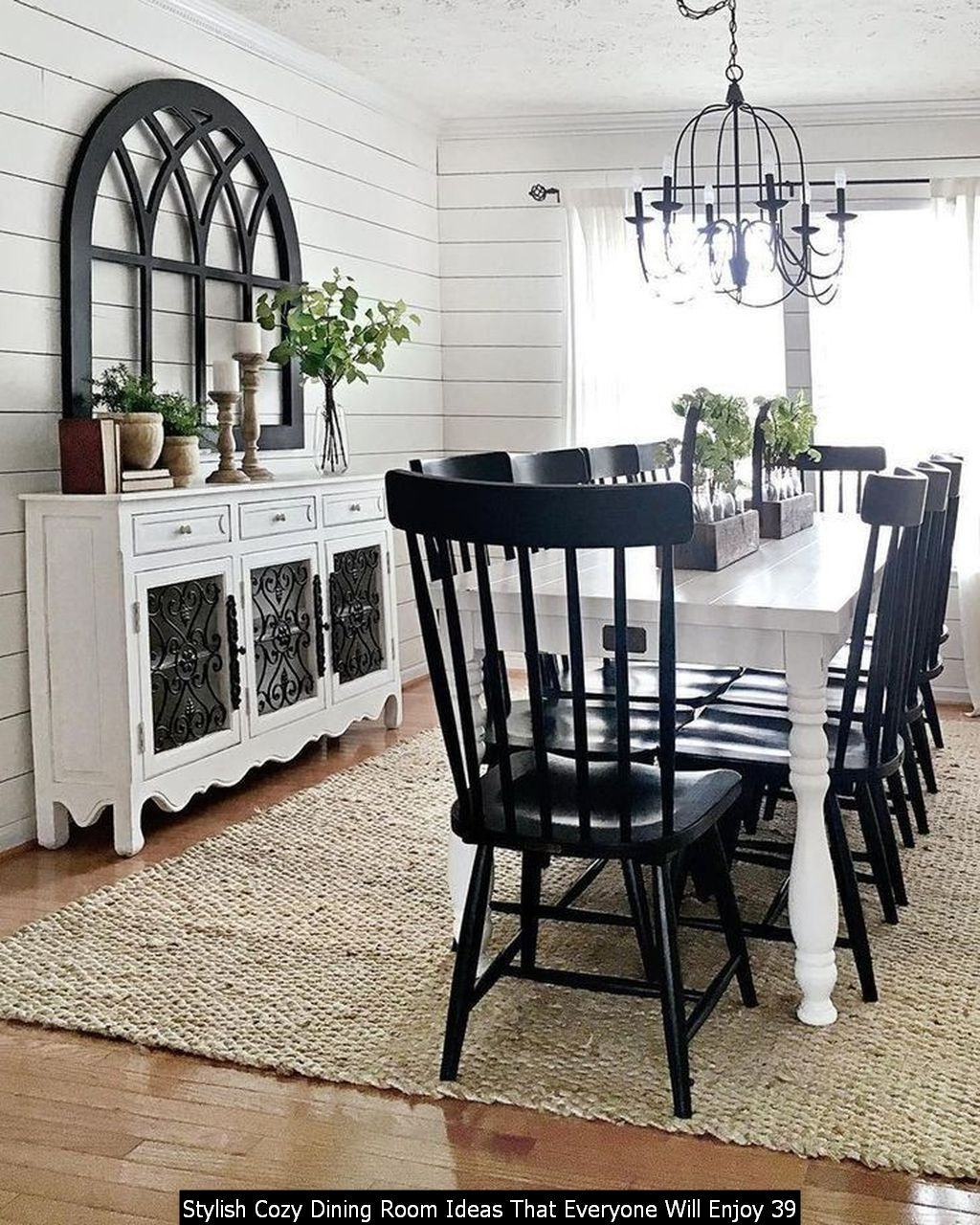 Stylish Cozy Dining Room Ideas That Everyone Will Enjoy 39