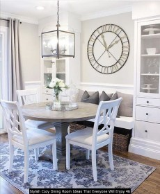 Stylish Cozy Dining Room Ideas That Everyone Will Enjoy 46