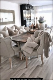 Stylish Cozy Dining Room Ideas That Everyone Will Enjoy 48