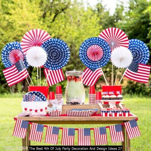 The Best 4th Of July Party Decoration And Design Ideas 27