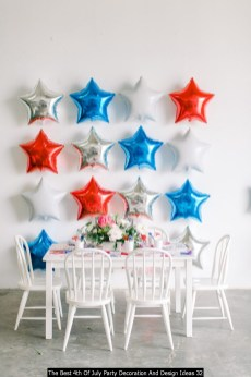 The Best 4th Of July Party Decoration And Design Ideas 32