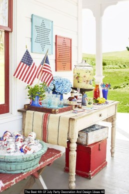 The Best 4th Of July Party Decoration And Design Ideas 40
