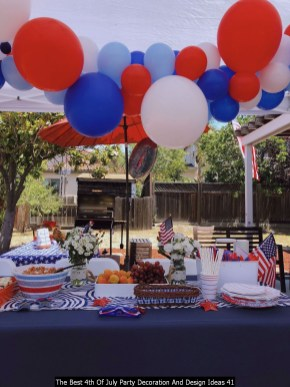The Best 4th Of July Party Decoration And Design Ideas 41