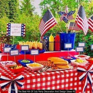 The Best 4th Of July Party Decoration And Design Ideas 45