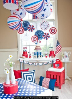 The Best 4th Of July Party Decoration And Design Ideas 49