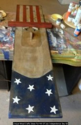 Unique Wood Crafts Ideas For 4th Of July Independence Day 05