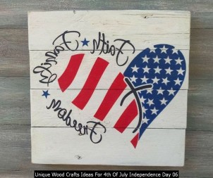 Unique Wood Crafts Ideas For 4th Of July Independence Day 06