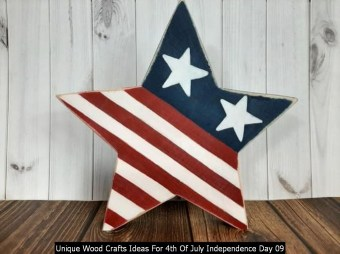 Unique Wood Crafts Ideas For 4th Of July Independence Day 09