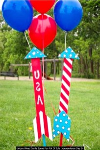 Unique Wood Crafts Ideas For 4th Of July Independence Day 14