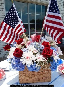 Unique Wood Crafts Ideas For 4th Of July Independence Day 16