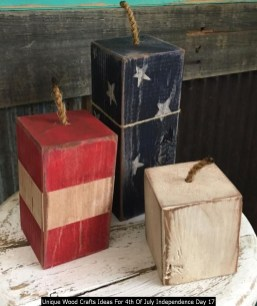 Unique Wood Crafts Ideas For 4th Of July Independence Day 17