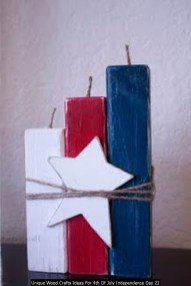 Unique Wood Crafts Ideas For 4th Of July Independence Day 22