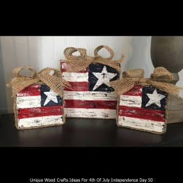 Unique Wood Crafts Ideas For 4th Of July Independence Day 50