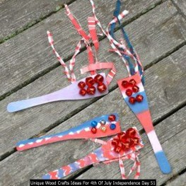 Unique Wood Crafts Ideas For 4th Of July Independence Day 51
