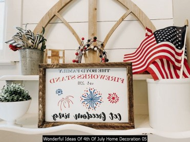 Wonderful Ideas Of 4th Of July Home Decoration 05