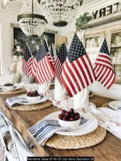 Wonderful Ideas Of 4th Of July Home Decoration 30