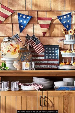 Wonderful Ideas Of 4th Of July Home Decoration 32